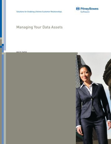 Managing Your Data Assets - Pitney Bowes
