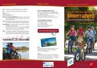 Römerradweg Flyer - Innviertel Tourismus