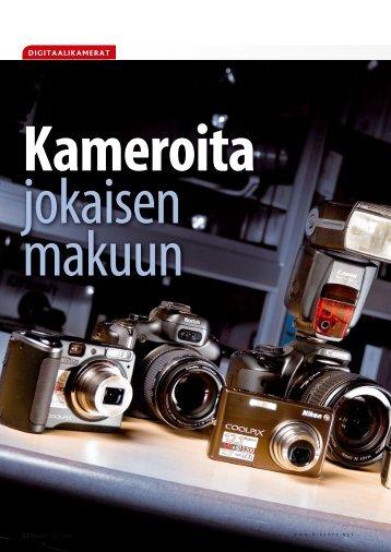 Katsaus>Superkompaktikamerat - MikroPC