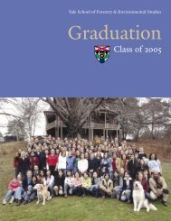 scenes from graduation - Yale University