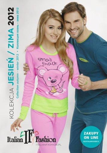 JESIEŃ / ZIMA 2012 - Italian Fashion