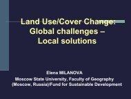 E. Milanova - Land Use/Cover Change