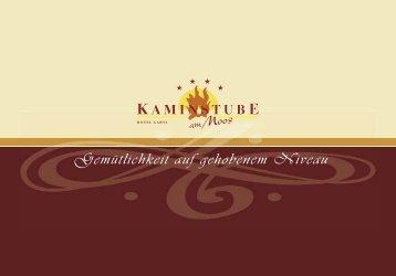 Download - Hotelprospekt - Kaminstube