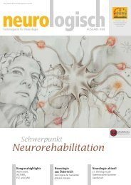 Neurorehabilitation - Österreichische Gesellschaft für Neurologie