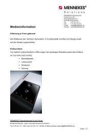 MENNEKES Medieninformation - Neue Wallboxen ...