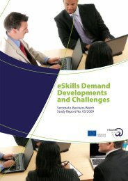 e-Skills – Demand Developments and Challenges - empirica