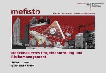 Szenario Projektcontrolling - Mefisto