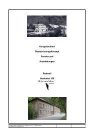 Kurzgutachten der Holzmanufaktur Rottweil GmbH