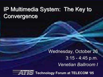 Download the Presentations - ATIS