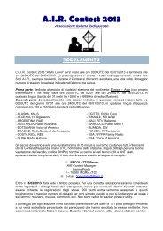 Contest Attilio Leoni 2013 - AIR