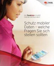 Schutz mobiler Daten – welche Fragen Sie sich stellen ... - Trend Micro
