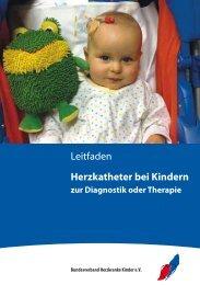 Leitfaden Herzkatheter bei Kindern - BVHK