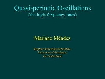 Quasi-periodic oscillations in X-ray binaries - iucaa