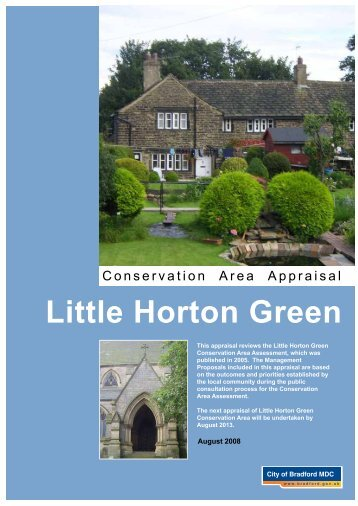 Little Horton Green - Bradford Metropolitan District Council