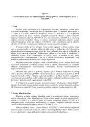 Správa o stave ochrany práce a o činnosti orgánov štátnej správy v ...