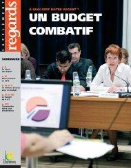 Supplément à Regards N°356 - Spécial budget 2012 - Courneuve