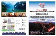 Charm of China + Yangtze River (Three Gorges) Cruise 11 Days