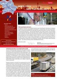 3/2010 Newsletter - Oder-Partnerschaft