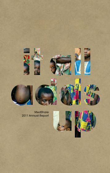MedShare 2011 Annual Report