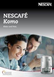 Prospekt Nescafe Komo - ODTV-VERTRIEB.de