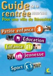 Guide de rentree 2010-2011 - Courneuve