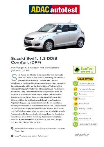 Suzuki Swift 1.3 Ddis Comfort (DPF)