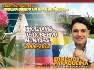 Ernesto Paraqueima - Consejo Nacional Electoral