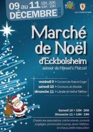 de Noël - Site officiel de la Mairie d'Eckbolsheim - Ville d'Eckbolsheim