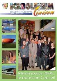 Mai 2008 - Site officiel de la Mairie d'Eckbolsheim - Ville d ...