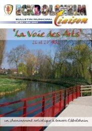 Mai 2007 - Site officiel de la Mairie d'Eckbolsheim - Ville d ...