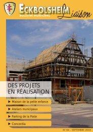 DES PROJETS EN RÉALISATION - Site officiel de la Mairie d ...