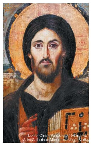 "Icon of Christ ""Pantocrator"" (Almighty), Saint Catherine's Monastery ..."