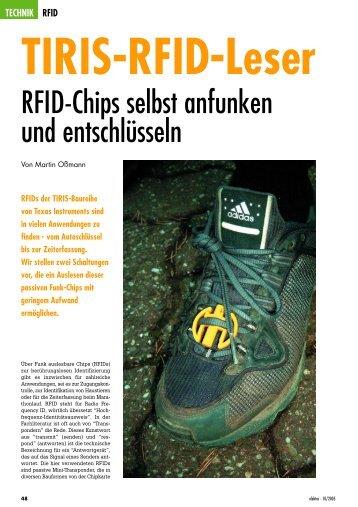 TIRIS-RFID-Leser