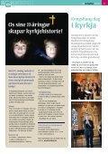 Overnatting i kyrkja s. 05 Nye kyrkjetekstilar s. 11 ... - Mediamannen - Page 5