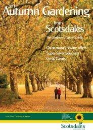 Autumn Gardening - Scotsdales Garden Centre