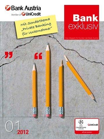 Bank exklusiv 1/2012