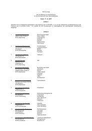 Satzung über die Bildung von Schulbezirken für die - Odenwaldkreis