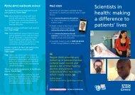 leaflet - NHS Careers