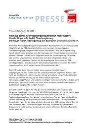 Knecht Rupprecht tadelt Staatsregierung - Angelika Weikert, MdL