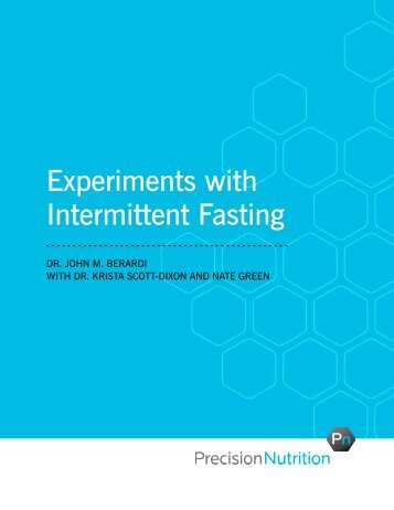 Experiments with Intermittent Fasting - Dan John