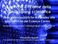 I Perché e i Come della divulgazione scientifica. Dalle lezioni ...