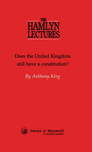 Does the United Kingdom still have a Constitution? - College of ...