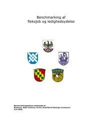 Benchmarking af fleksjob og ledighedsydelse - Greve Kommune