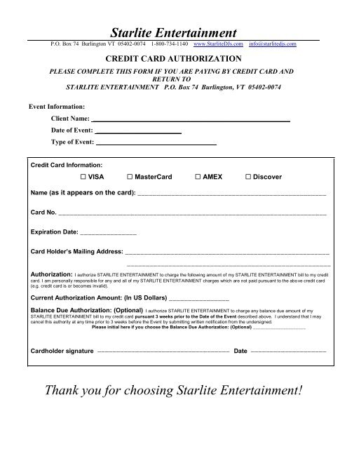 Complete Wedding Packet - Starlite Entertainment DJs