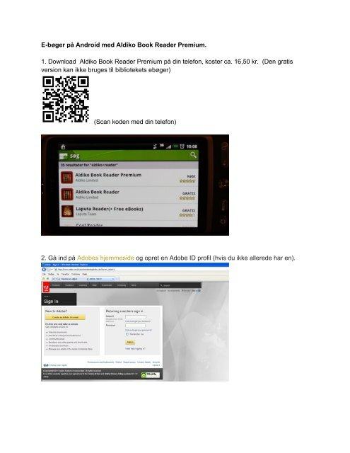 E-bøger på Android med Aldiko Book Reader Premium. 1 ...