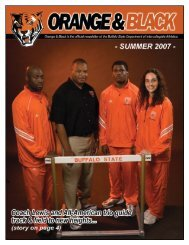 07 Summer Newsletter.indd - Buffalo State College Athletics