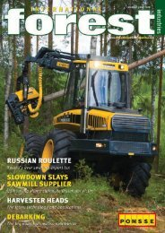 Issue 4 - June 2008 - International Forest Industries (IFI)