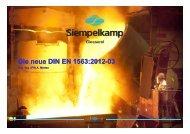 EN 1563:2012 - CastTec 2012
