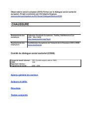 CHAUSSURE - WORKER PARTICIPATION.eu