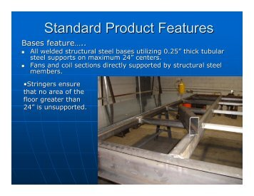 Standard Product Features - Usair-eng.com